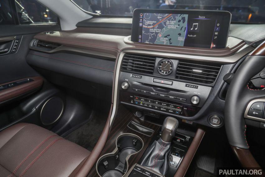 Lexus RX facelift dilancar di Malaysia – tiga varian berenjin 2.0L turbo dengan harga bermula RM400k Image #1013136