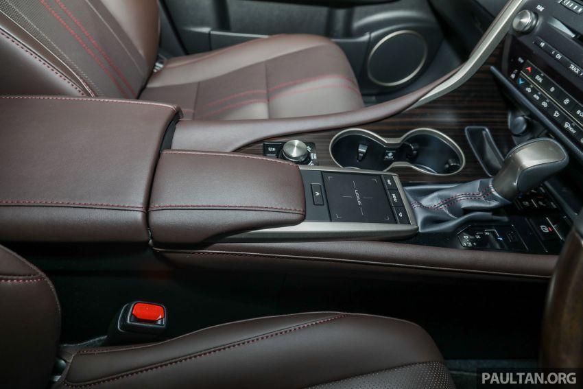 Lexus RX facelift dilancar di Malaysia – tiga varian berenjin 2.0L turbo dengan harga bermula RM400k Image #1013140