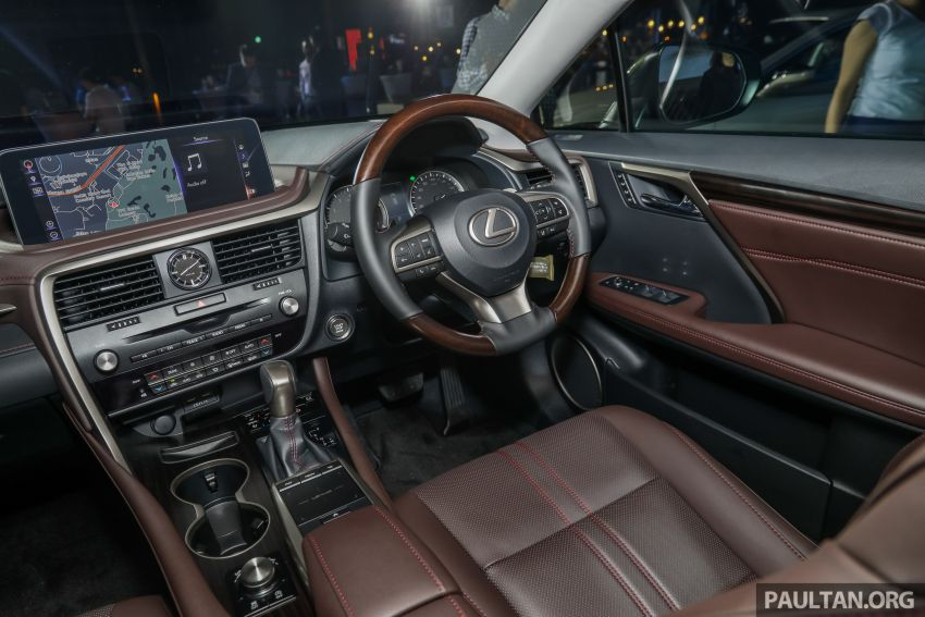 2019 Lexus RX facelift launched in Malaysia – three 2.0L turbo variants offered; priced from RM399,888 Image #1013031