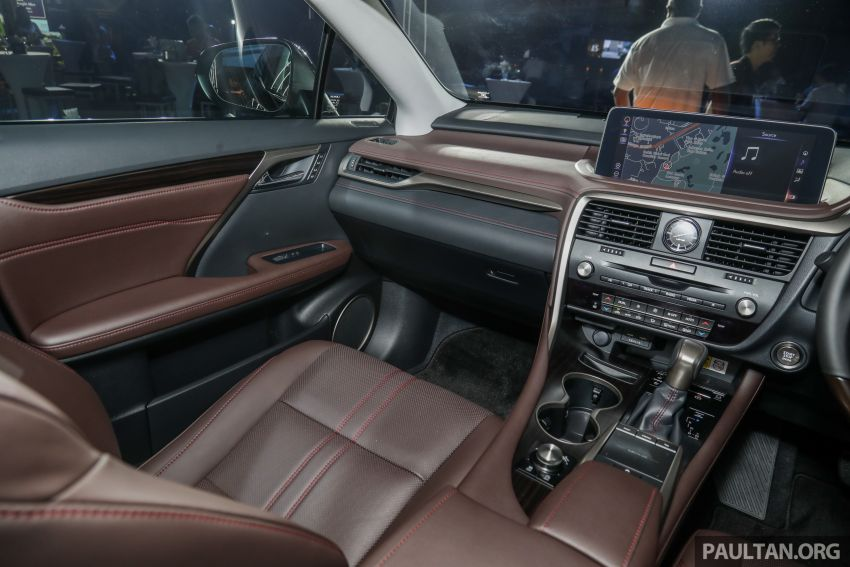 2019 Lexus RX facelift launched in Malaysia – three 2.0L turbo variants offered; priced from RM399,888 Image #1013035