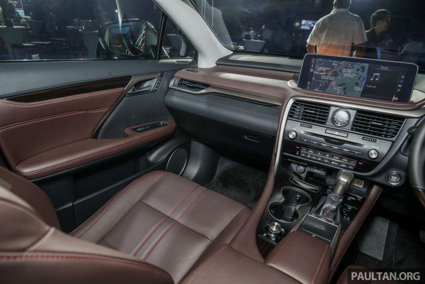 Lexus RX facelift dilancar di Malaysia – tiga varian berenjin 2.0L turbo dengan harga bermula RM400k Image #1013142