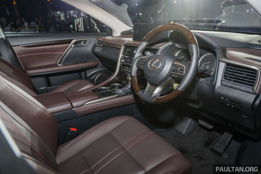 2019 Lexus RX facelift launched in Malaysia – three 2.0L turbo variants offered; priced from RM399,888 Image #1012979
