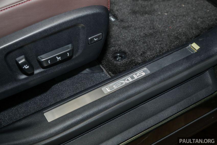 Lexus RX facelift dilancar di Malaysia – tiga varian berenjin 2.0L turbo dengan harga bermula RM400k Image #1013146