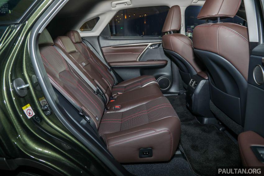Lexus RX facelift dilancar di Malaysia – tiga varian berenjin 2.0L turbo dengan harga bermula RM400k Image #1013154