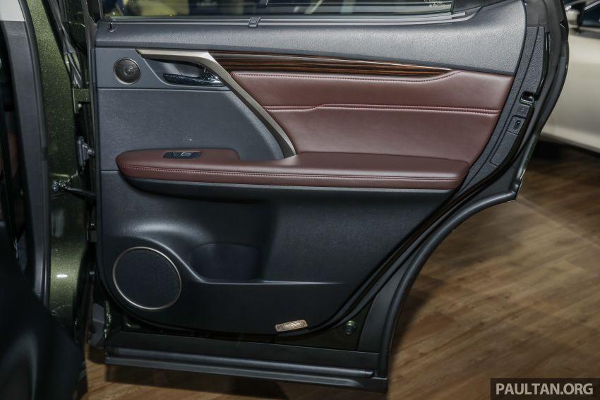 Lexus RX facelift dilancar di Malaysia – tiga varian berenjin 2.0L turbo dengan harga bermula RM400k Image #1013155