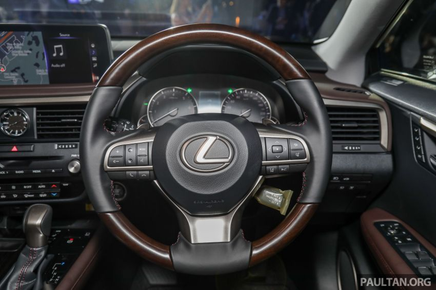 2019 Lexus RX facelift launched in Malaysia – three 2.0L turbo variants offered; priced from RM399,888 Image #1012983