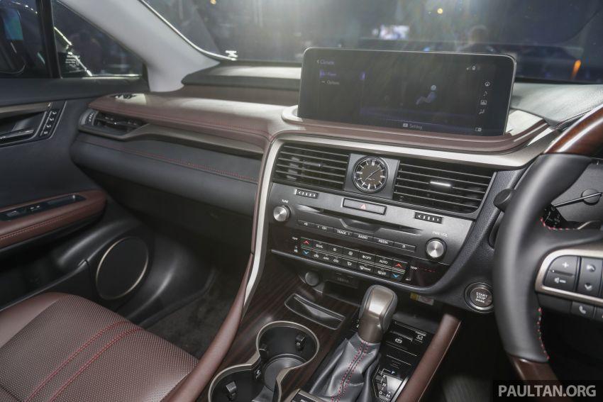 Lexus RX facelift dilancar di Malaysia – tiga varian berenjin 2.0L turbo dengan harga bermula RM400k Image #1013129