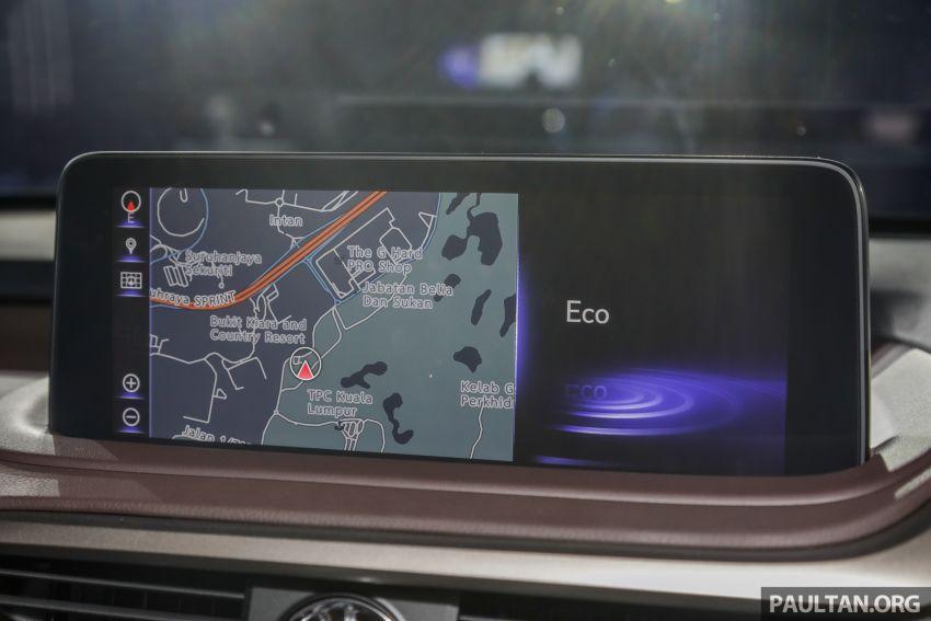 Lexus RX facelift dilancar di Malaysia – tiga varian berenjin 2.0L turbo dengan harga bermula RM400k Image #1013133
