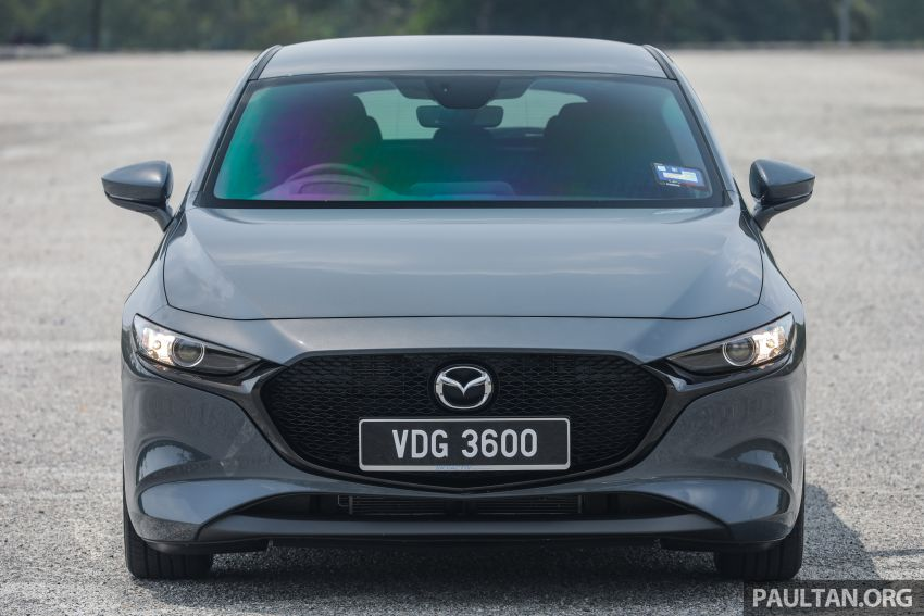 FIRST DRIVE: 2019 Mazda 3 Hatchback and Sedan – good car, but are those premium aspirations justified? Image #1017632