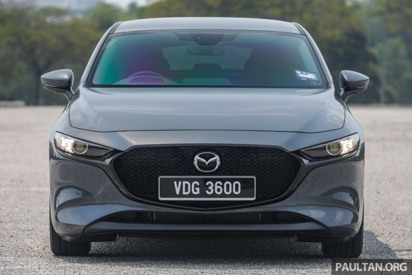 FIRST DRIVE: 2019 Mazda 3 Hatchback and Sedan – good car, but are those premium aspirations justified? Image #1017633