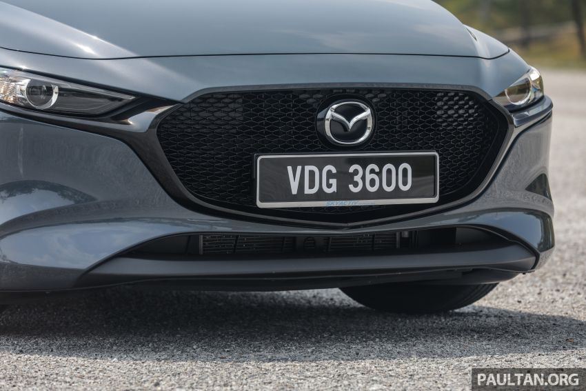 FIRST DRIVE: 2019 Mazda 3 Hatchback and Sedan – good car, but are those premium aspirations justified? Image #1017643