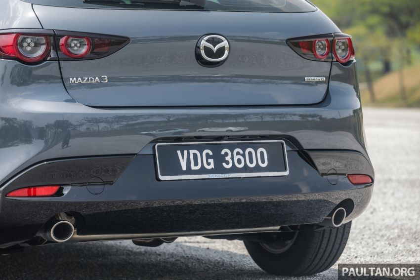 FIRST DRIVE: 2019 Mazda 3 Hatchback and Sedan – good car, but are those premium aspirations justified? Image #1017655