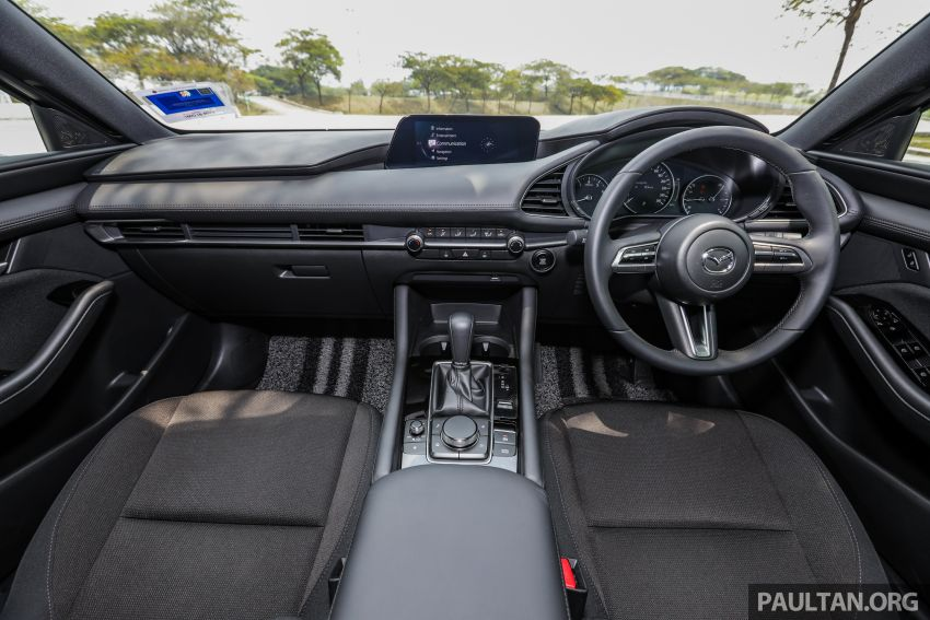 FIRST DRIVE: 2019 Mazda 3 Hatchback and Sedan – good car, but are those premium aspirations justified? Image #1017661
