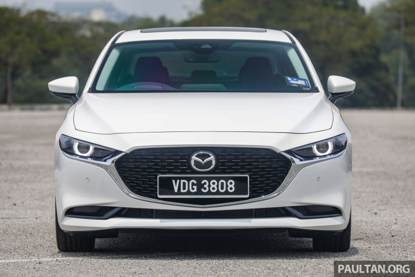 FIRST DRIVE: 2019 Mazda 3 Hatchback and Sedan – good car, but are those premium aspirations justified? Image #1017545
