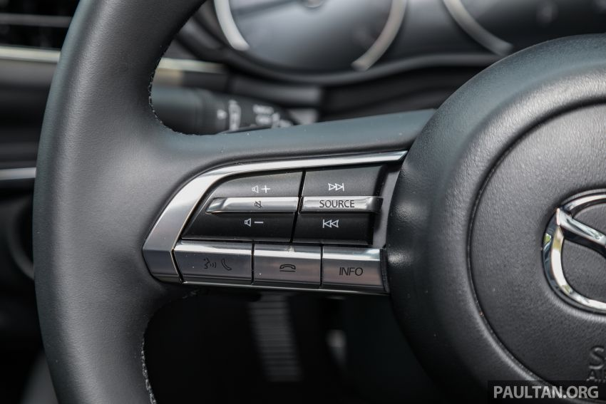 FIRST DRIVE: 2019 Mazda 3 Hatchback and Sedan – good car, but are those premium aspirations justified? Image #1017576