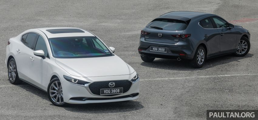 FIRST DRIVE: 2019 Mazda 3 Hatchback and Sedan – good car, but are those premium aspirations justified? Image #1017433