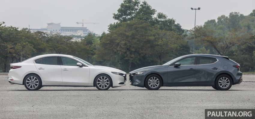 FIRST DRIVE: 2019 Mazda 3 Hatchback and Sedan – good car, but are those premium aspirations justified? Image #1017445