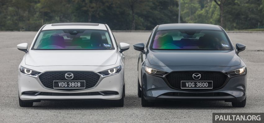 FIRST DRIVE: 2019 Mazda 3 Hatchback and Sedan – good car, but are those premium aspirations justified? Image #1017446