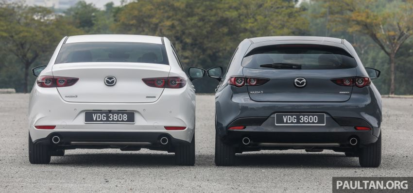 FIRST DRIVE: 2019 Mazda 3 Hatchback and Sedan – good car, but are those premium aspirations justified? Image #1017449