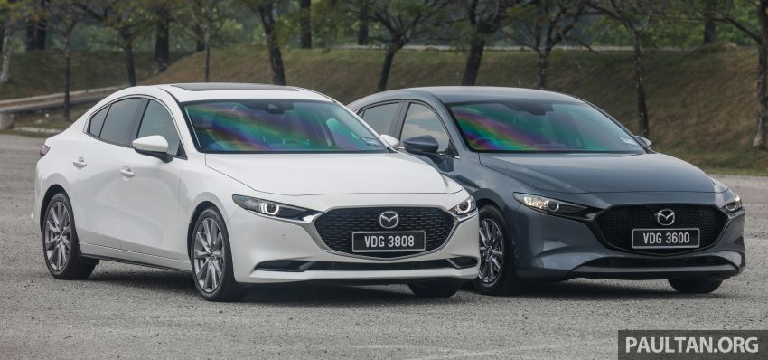 FIRST DRIVE: 2019 Mazda 3 Hatchback and Sedan – good car, but are those premium aspirations justified? Image #1017435