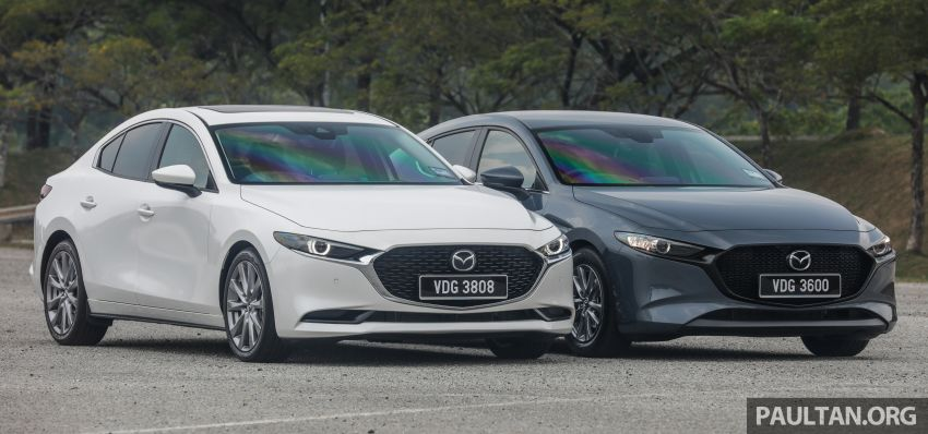 FIRST DRIVE: 2019 Mazda 3 Hatchback and Sedan – good car, but are those premium aspirations justified? Image #1017436