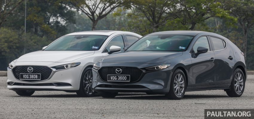 FIRST DRIVE: 2019 Mazda 3 Hatchback and Sedan – good car, but are those premium aspirations justified? Image #1017438