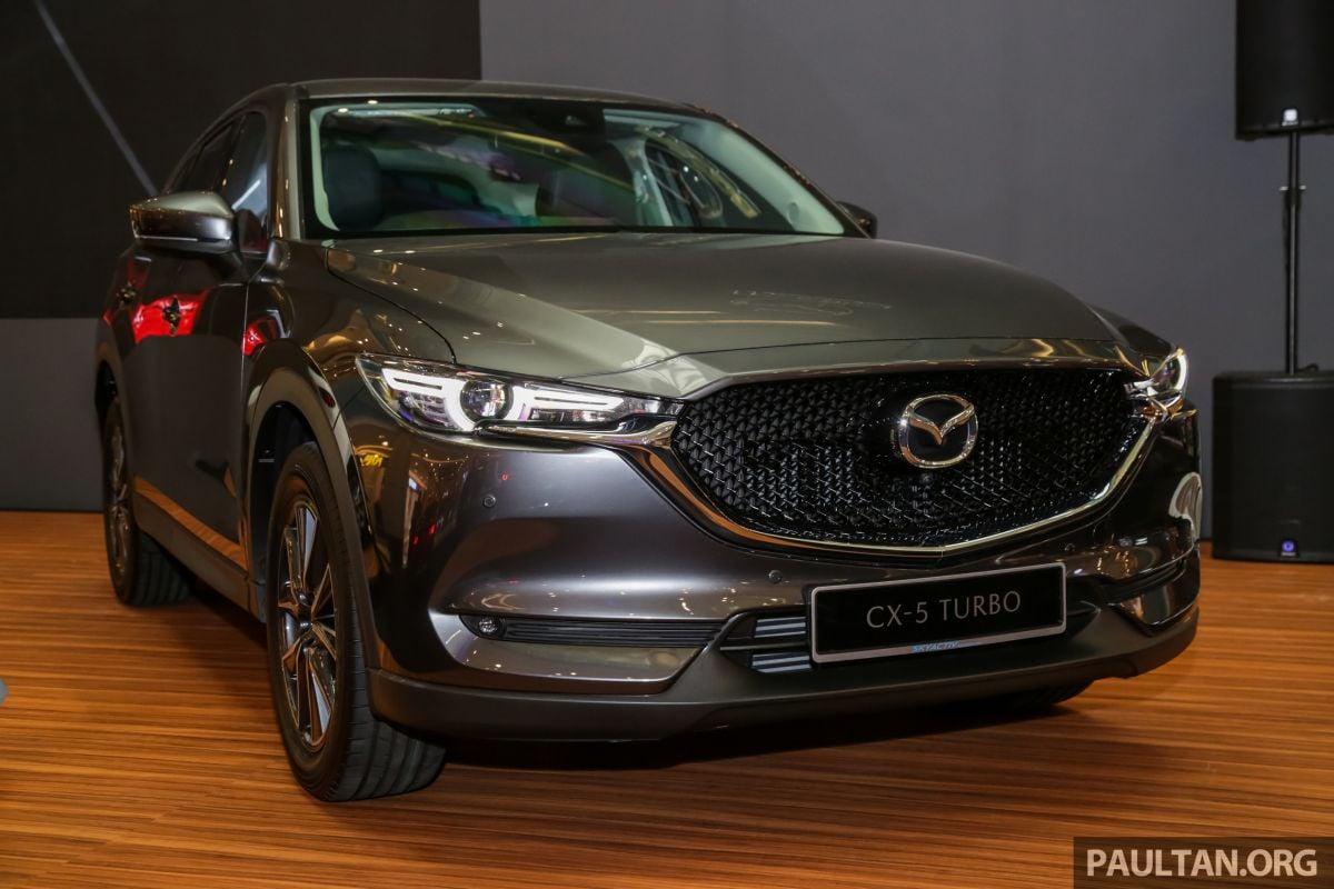 2019 Mazda CX-5 2 5L Turbo presented in Malaysia