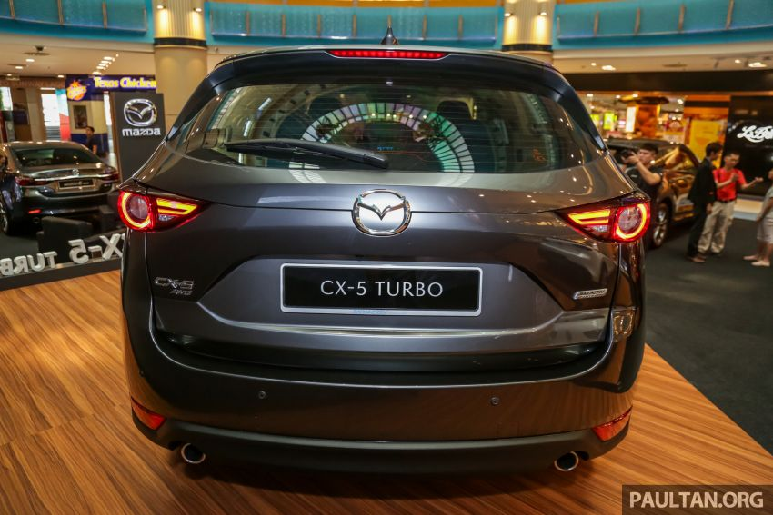 2019 Mazda CX-5 2.5L Turbo previewed in Malaysia Image #1010551
