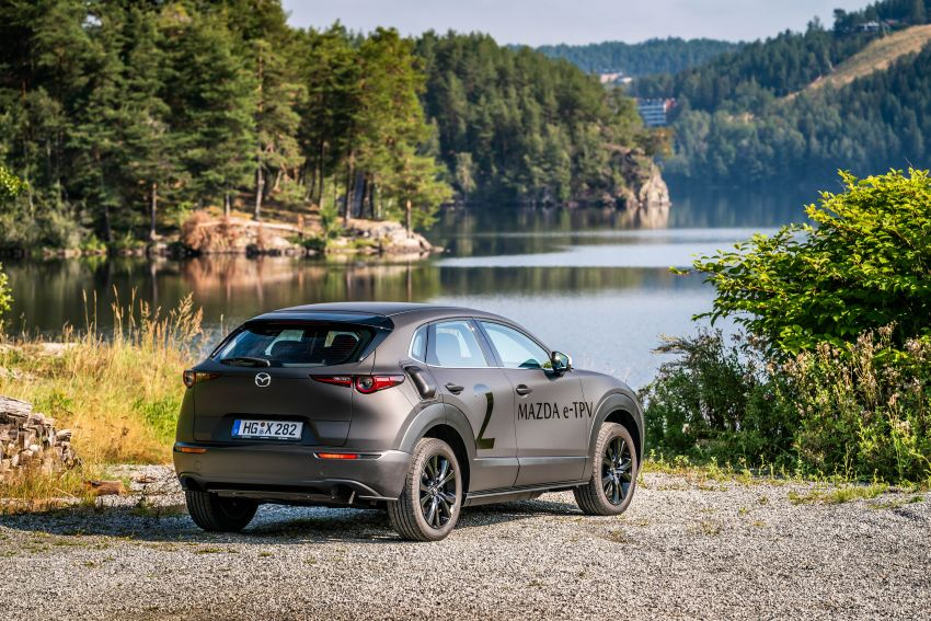 Mazda to unveil full EV at next month's Tokyo show Image #1016723