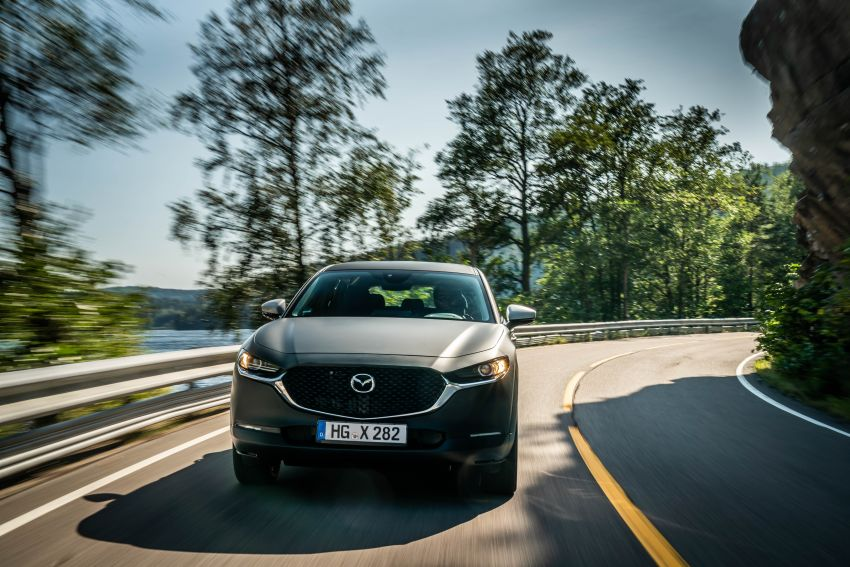 Mazda to unveil full EV at next month's Tokyo show Image #1016730