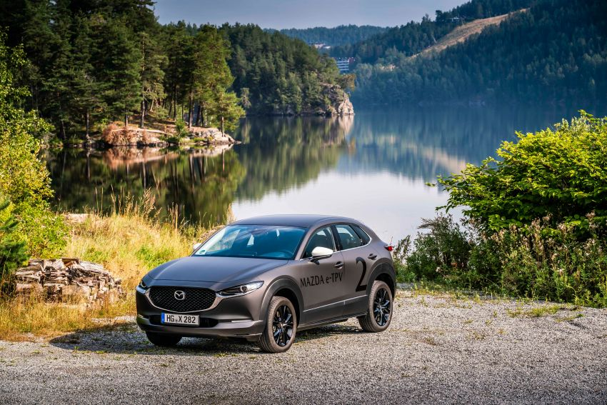 Mazda to unveil full EV at next month's Tokyo show Image #1016713