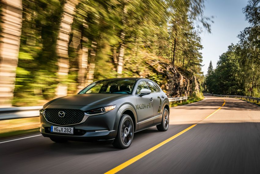 Mazda to unveil full EV at next month's Tokyo show Image #1016734