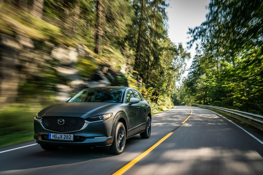Mazda to unveil full EV at next month's Tokyo show Image #1016739