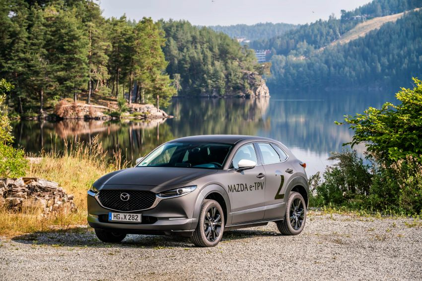 Mazda to unveil full EV at next month's Tokyo show Image #1016714