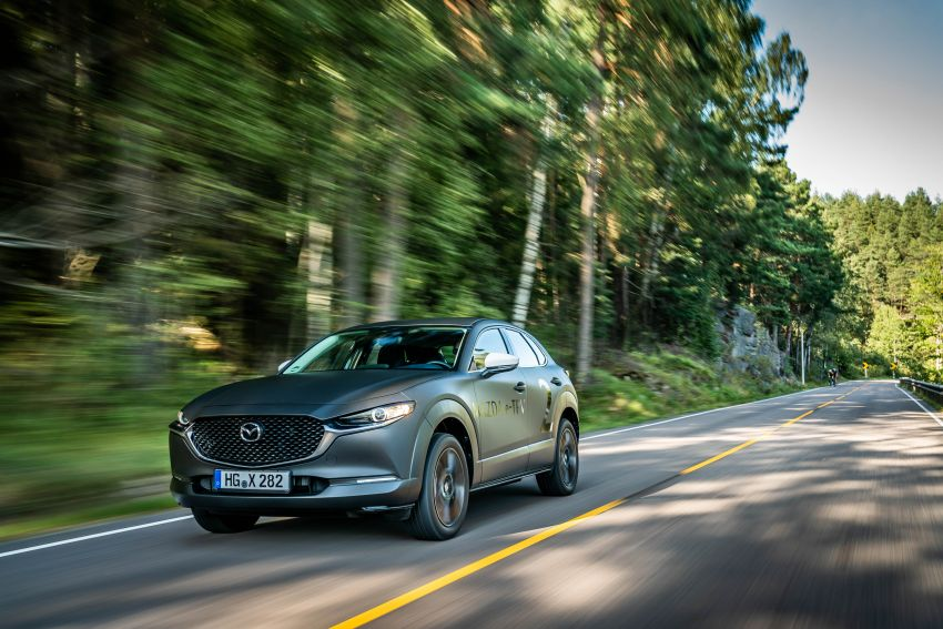 Mazda to unveil full EV at next month's Tokyo show Image #1016742