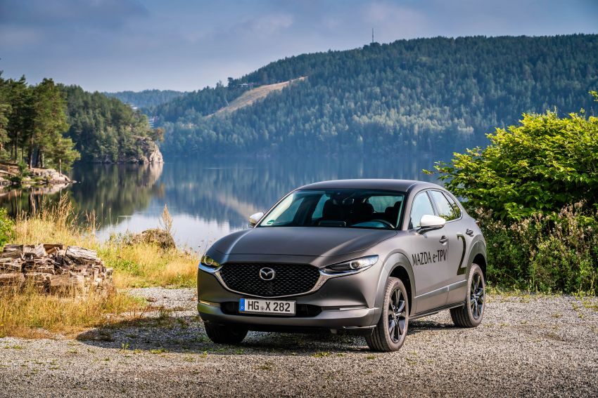 Mazda to unveil full EV at next month's Tokyo show Image #1016715
