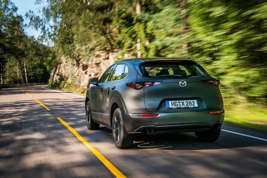 Mazda to unveil full EV at next month's Tokyo show Image #1016754