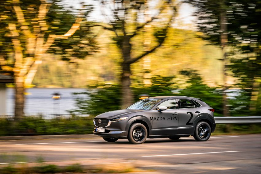 Mazda to unveil full EV at next month's Tokyo show Image #1016766