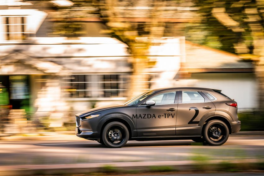 Mazda to unveil full EV at next month's Tokyo show Image #1016769