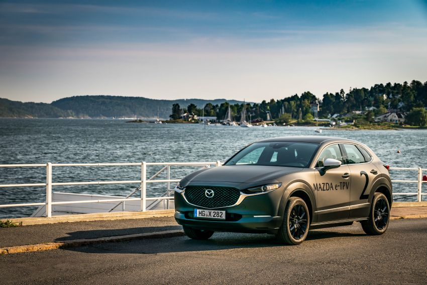 Mazda to unveil full EV at next month's Tokyo show Image #1016771