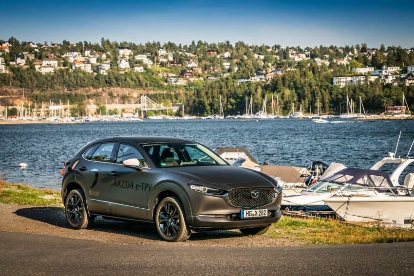 Mazda to unveil full EV at next month's Tokyo show Image #1016774