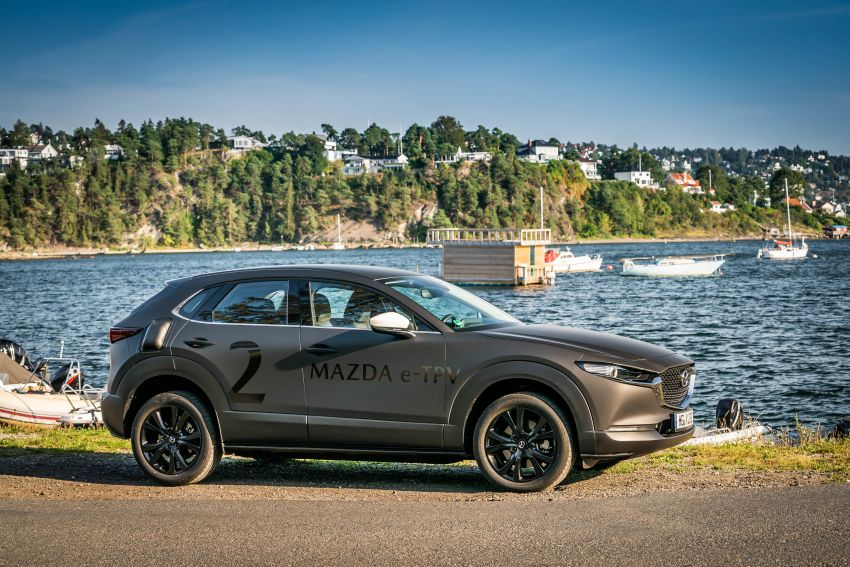 Mazda to unveil full EV at next month's Tokyo show Image #1016775