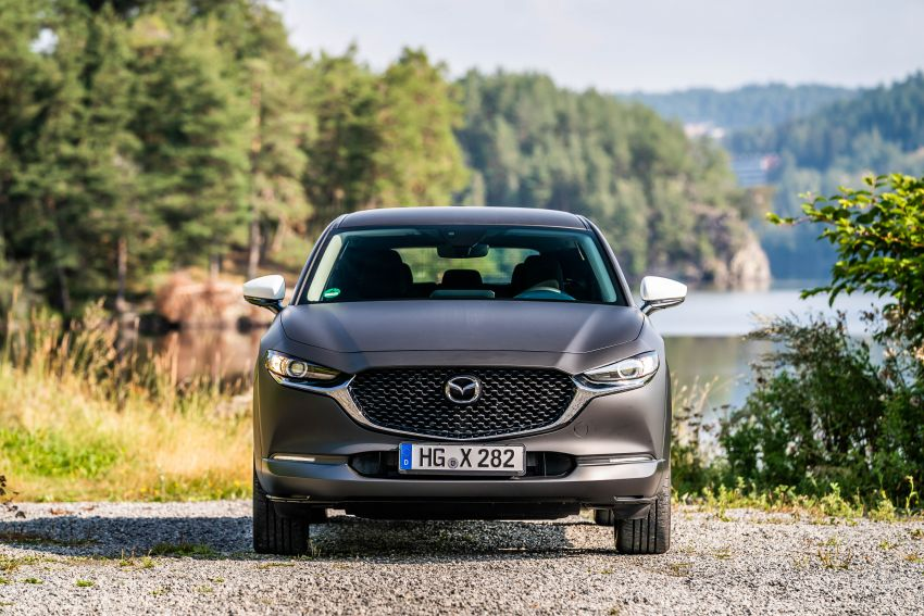 Mazda to unveil full EV at next month's Tokyo show Image #1016718