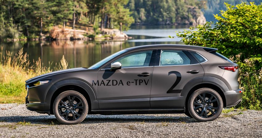 Mazda to unveil full EV at next month's Tokyo show Image #1016719