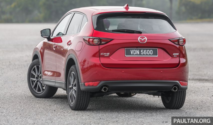 2019 Mazda CX-5 CKD launched in Malaysia – five variants, new 2.5 Turbo 4WD; from RM137k to RM178k Image #1022742