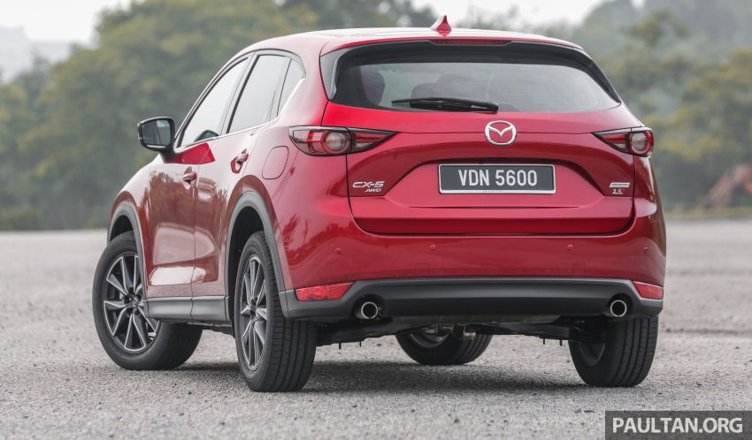 2019 Mazda CX-5 CKD launched in Malaysia – five variants, new 2.5 Turbo 4WD; from RM137k to RM178k Image #1022744