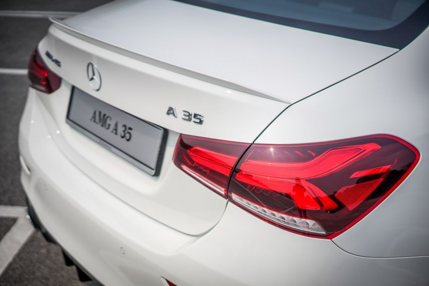 V177 Mercedes-AMG A35 4Matic Sedan launched in M'sia: 306 hp/400 Nm, 0-100 km/h in 4.8 secs, RM349k Image #1020244
