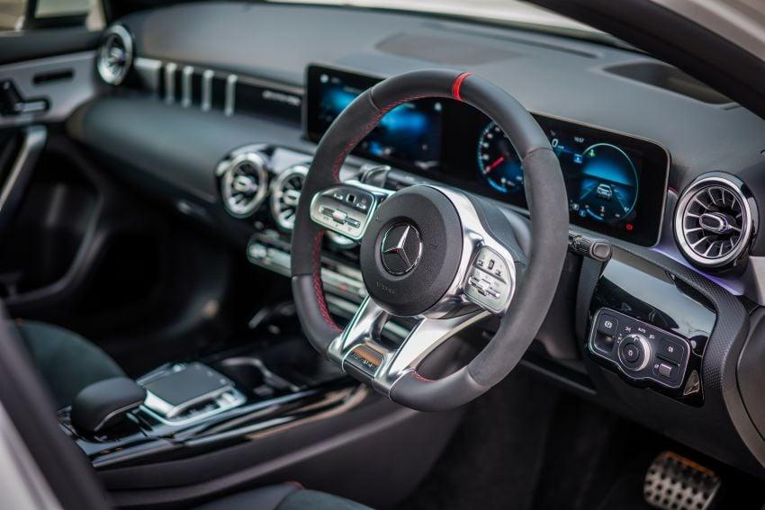 V177 Mercedes-AMG A35 4Matic Sedan launched in M'sia: 306 hp/400 Nm, 0-100 km/h in 4.8 secs, RM349k Image #1020311