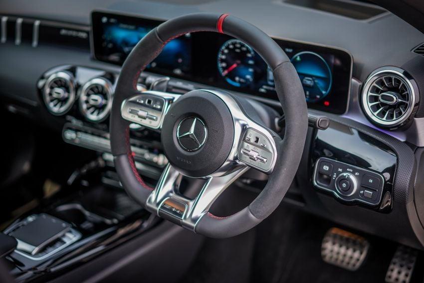 V177 Mercedes-AMG A35 4Matic Sedan launched in M'sia: 306 hp/400 Nm, 0-100 km/h in 4.8 secs, RM349k Image #1020313