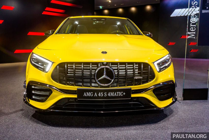 GALLERY: W177 Mercedes-AMG A45S, C118 CLA45S Image #1021616